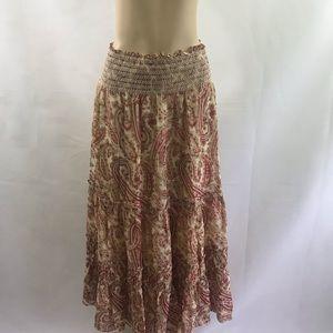 NWT EXPRESS🎉  stylish flowy chiffon  skirt